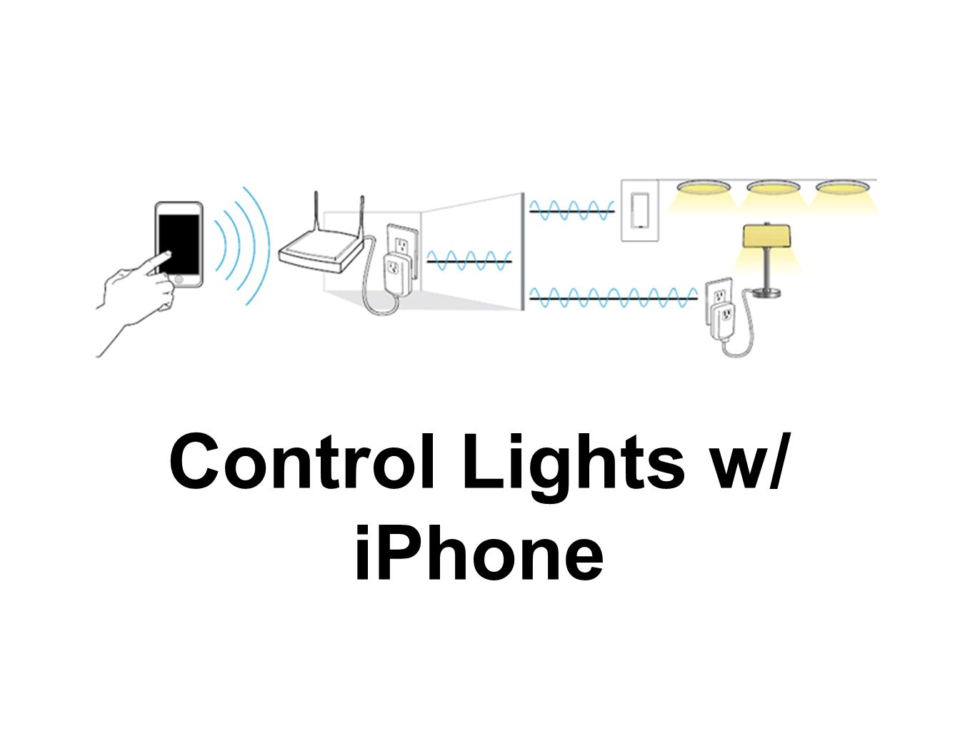 Control Lights w/ iPhone