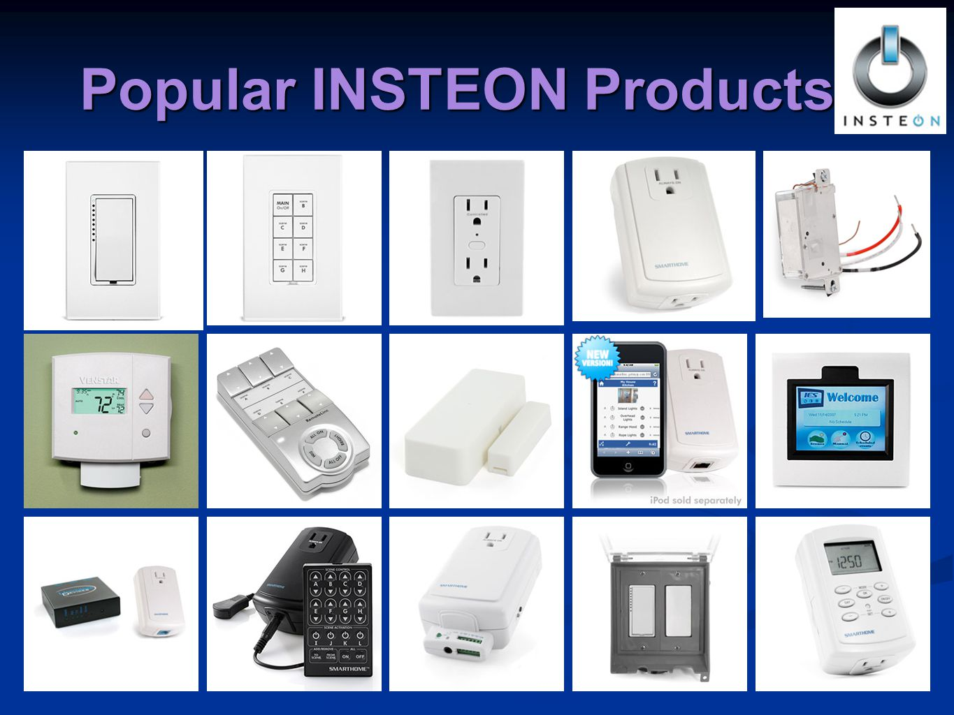 Popular INSTEON Products