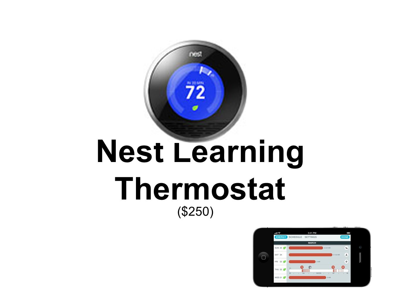 ($250) Nest Learning Thermostat