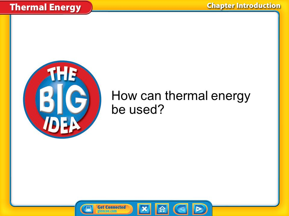Lesson 1 - VS When thermal energy moves between a material and its environment, the material's temperature changes.