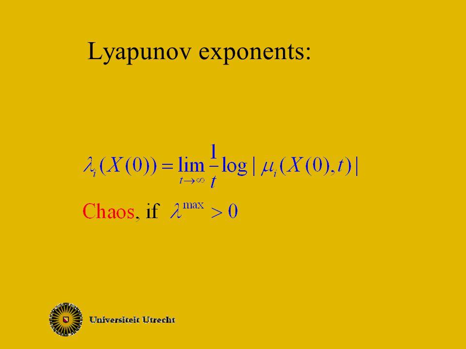 Lyapunov exponents: