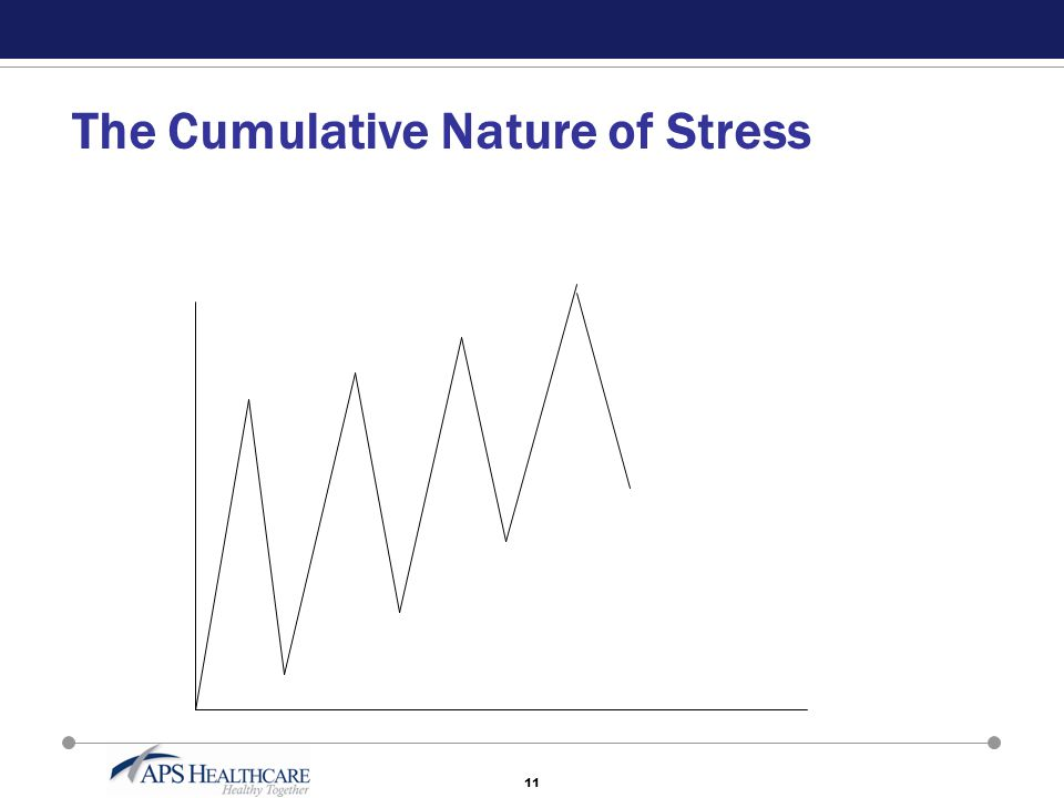 11 The Cumulative Nature of Stress