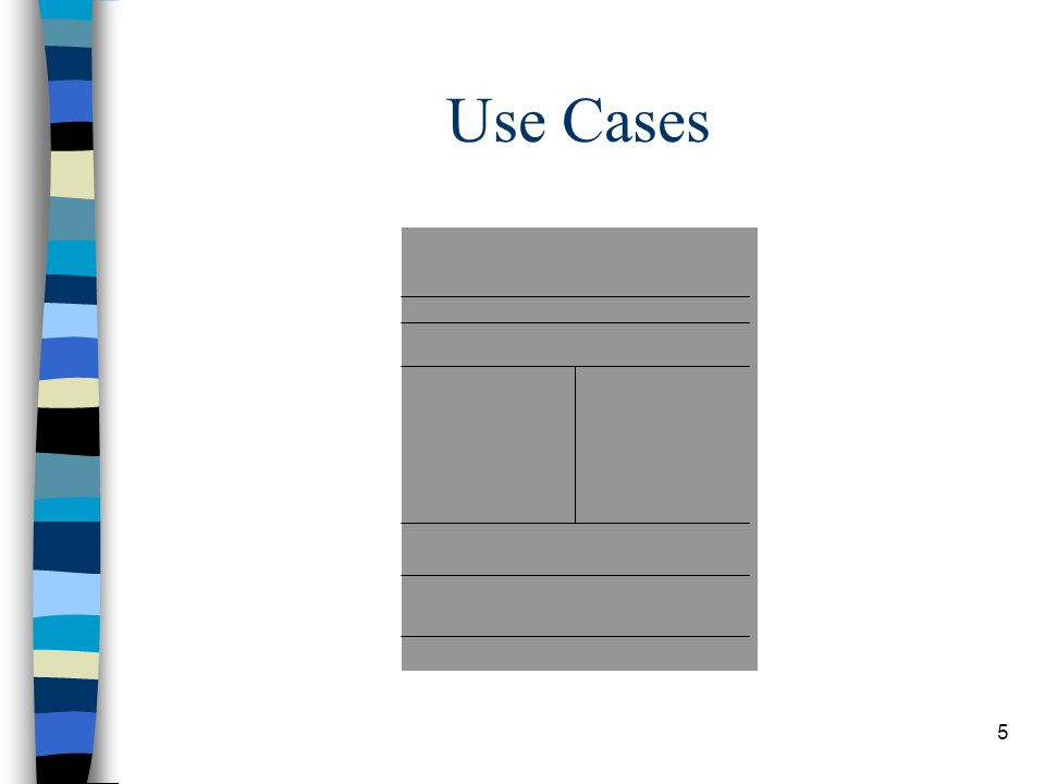 5 Use Cases