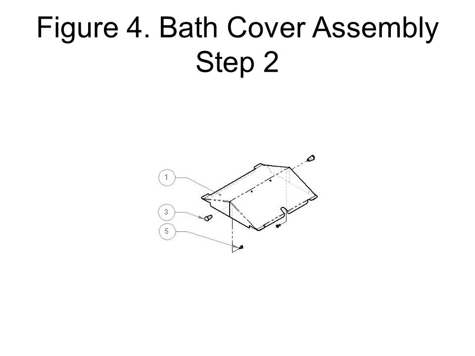 Figure 4. Bath Cover Assembly Step 2