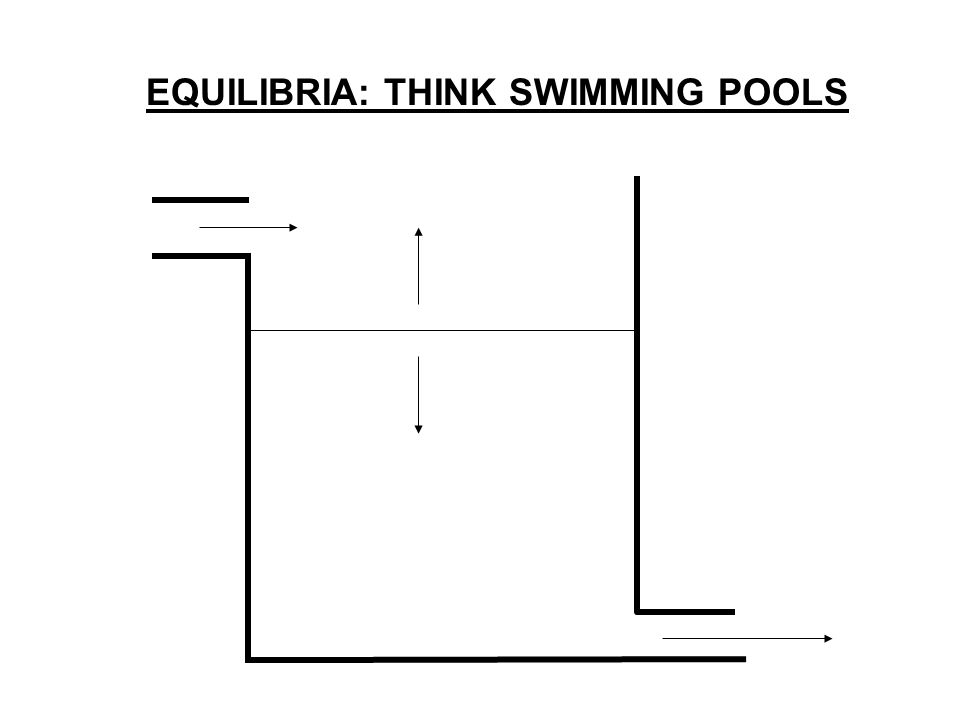 EQUILIBRIA: THINK SWIMMING POOLS