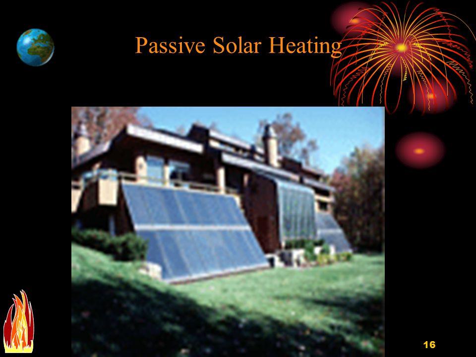 EGEE 10216 Passive Solar Heating