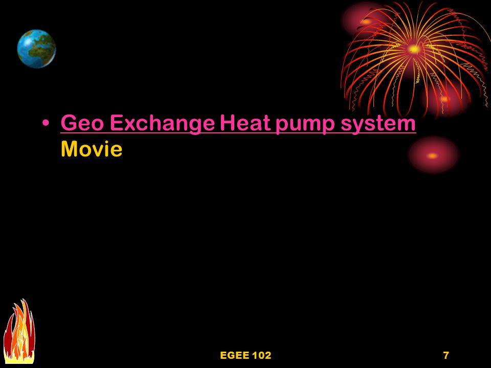 7 Geo Exchange Heat pump system MovieGeo Exchange Heat pump system