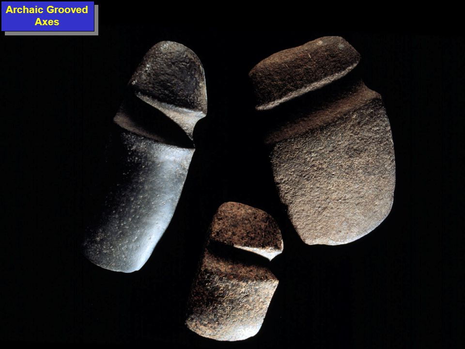 Archaic Grooved Axes