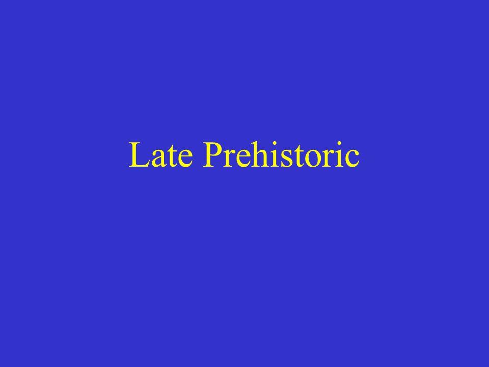 Late Prehistoric