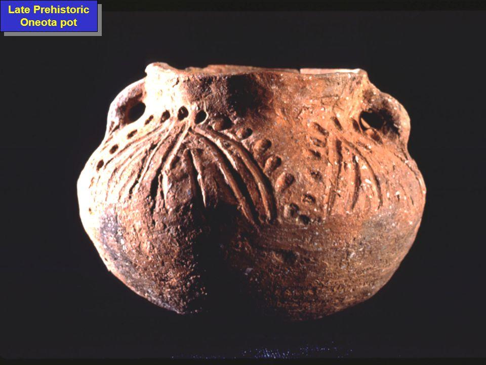 Late Prehistoric Oneota pot