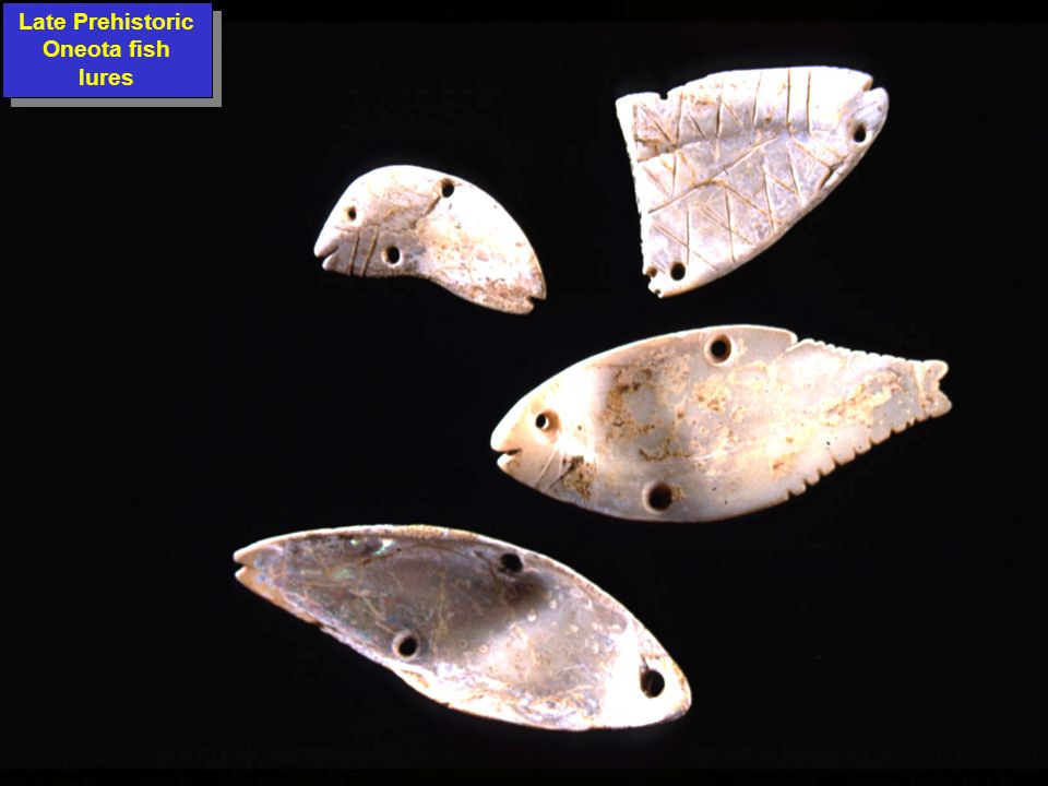 Late Prehistoric Oneota fish lures