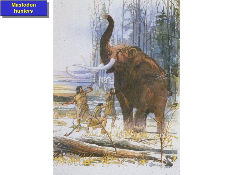 Mastodon hunters