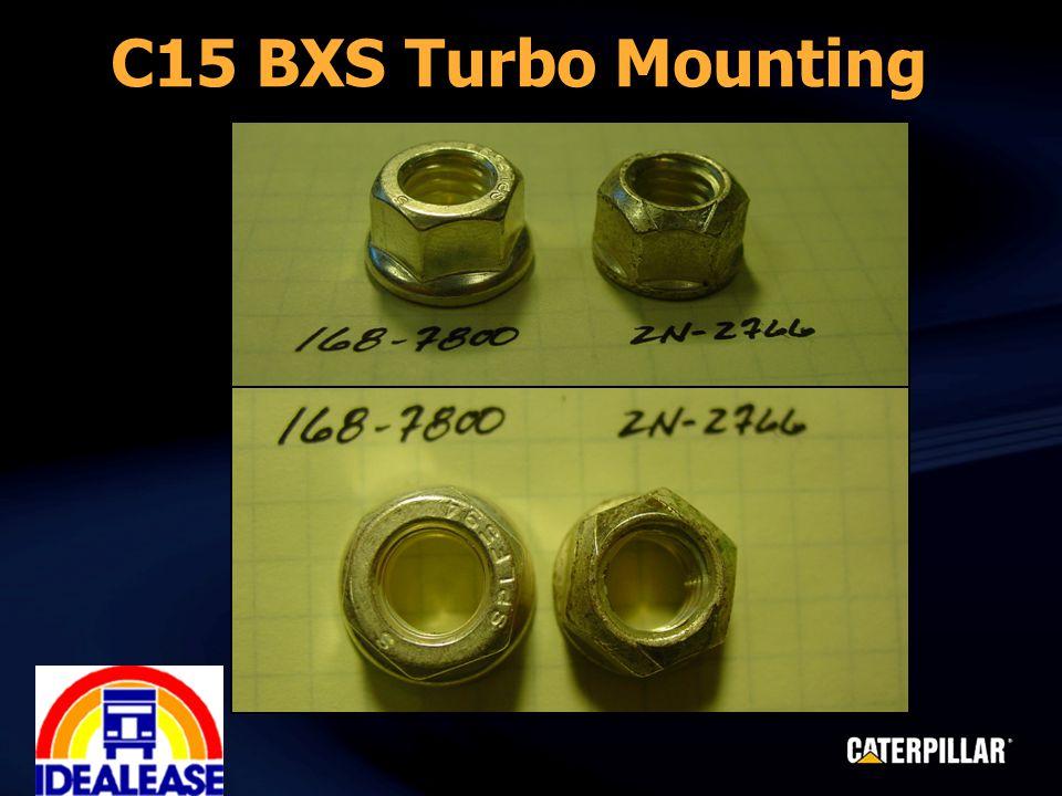 C15 BXS Turbo Mounting
