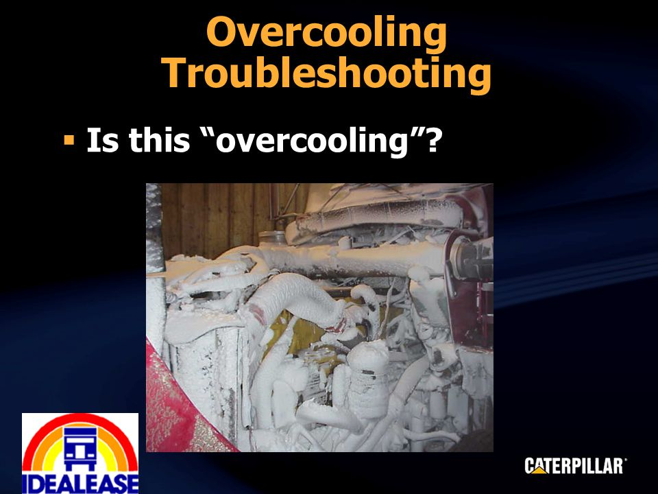  Is this overcooling Overcooling Troubleshooting