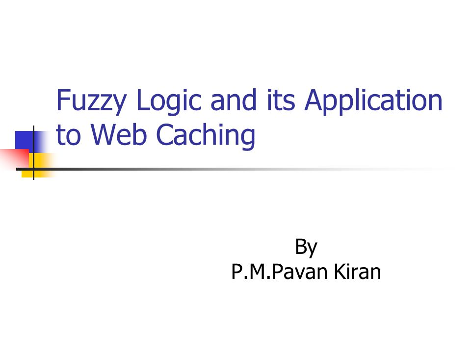 Web Caching The web server and web browser are responsible for caching at server and client side respectively.
