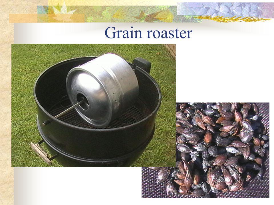 Grain roaster