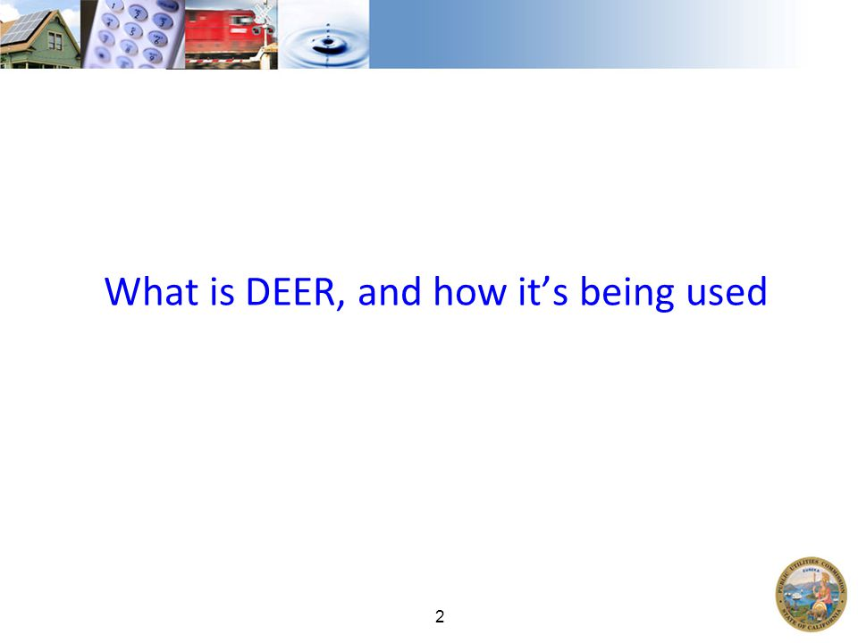 2 What is DEER, and how it's being used