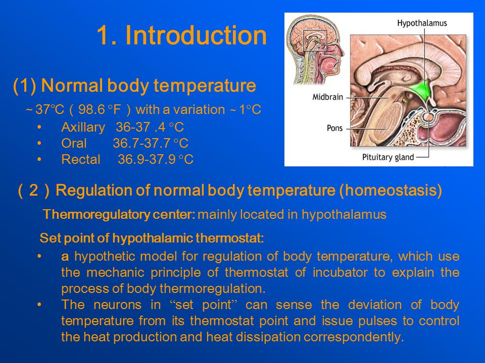 (3)Elevation of body temperature An elevation of body temperature above the normal amplitude of daily variation(>0.5 ℃ )