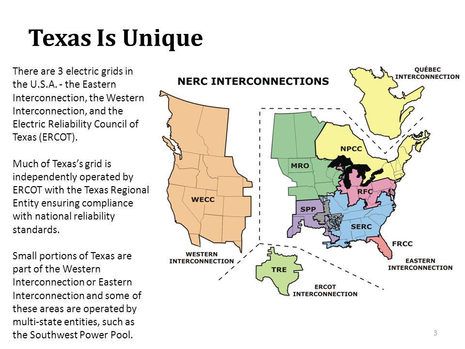 The ERCOT Grid ERCOT manages the flow of electric power to 22 million Texas customers.