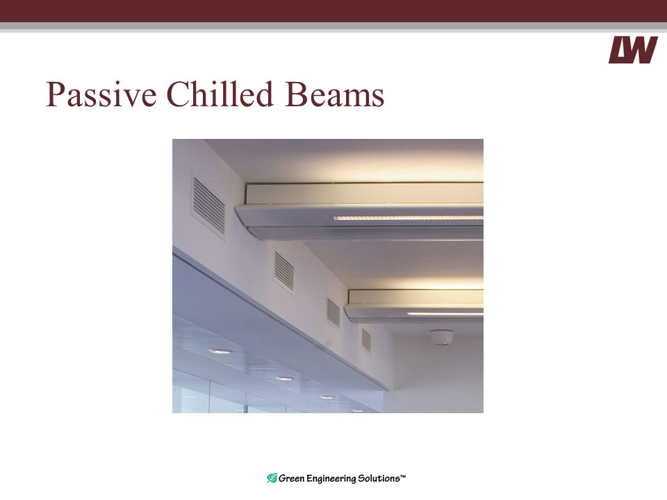Passive Chilled Beams
