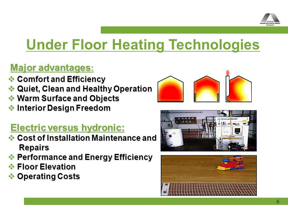 17 AHT Indoor Under-Floor Heating Mats Installation under wooden floors:
