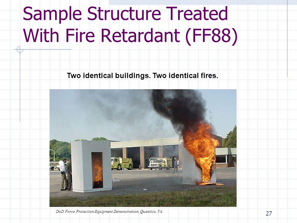 26 Typical Installation-New Construction Interior Avg Cost: $300-500 Retardant + Labor