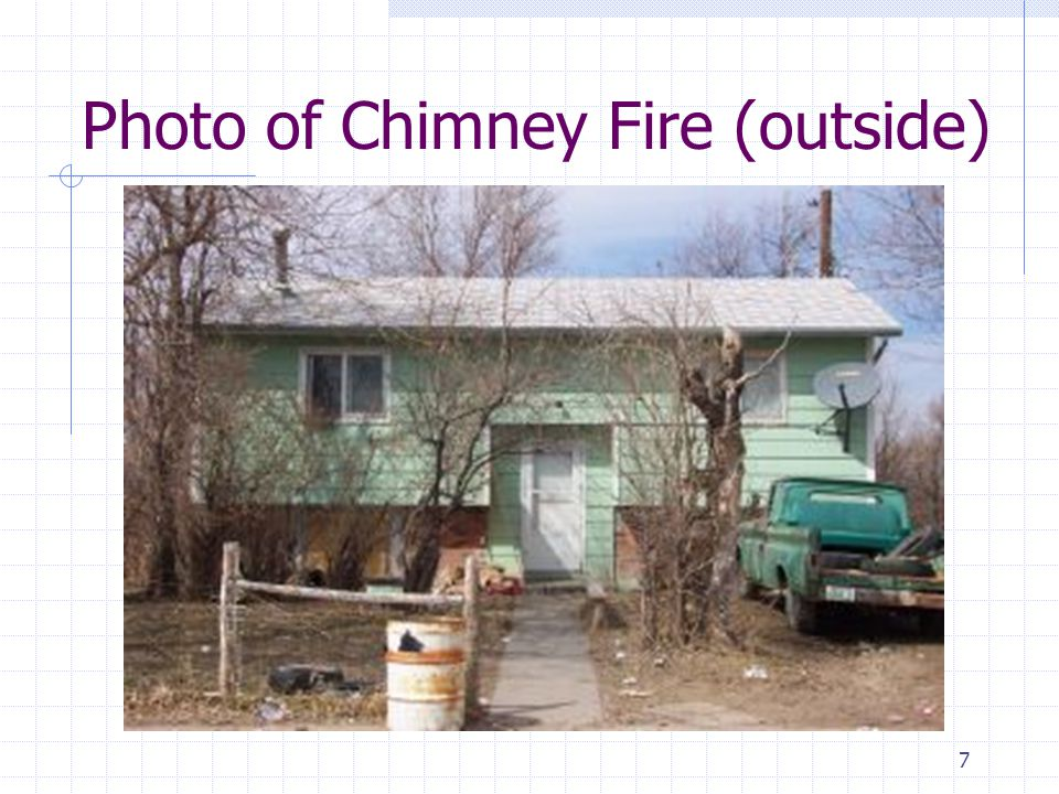 7 Photo of Chimney Fire (outside)