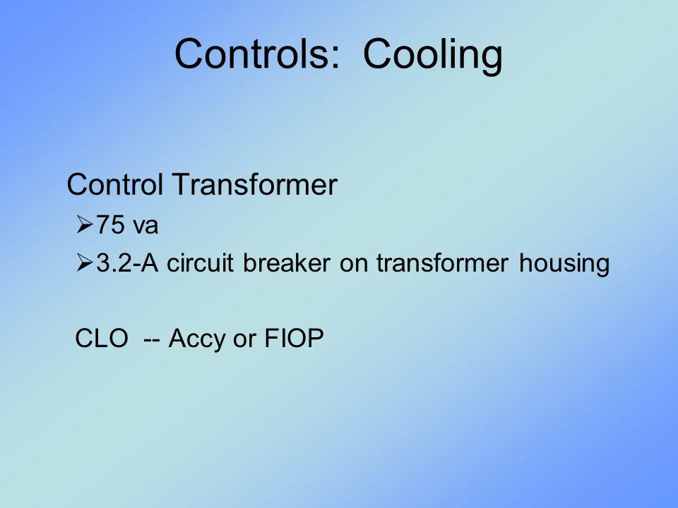 Controls: Heat Pump HPS High Pressure Switch  Opens 660PSI.