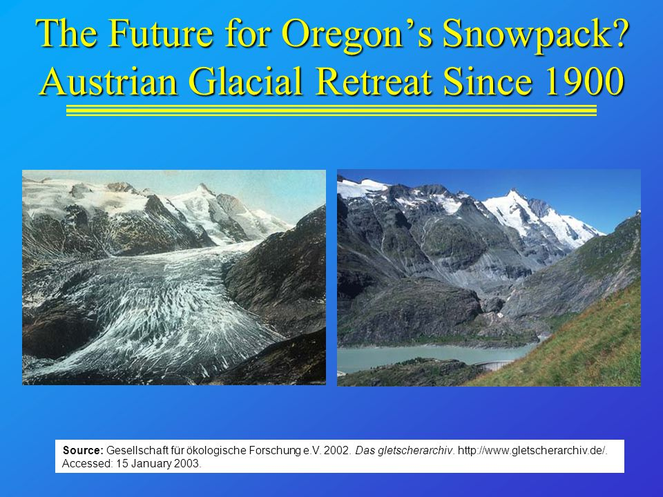 The Future for Oregon's Snowpack.