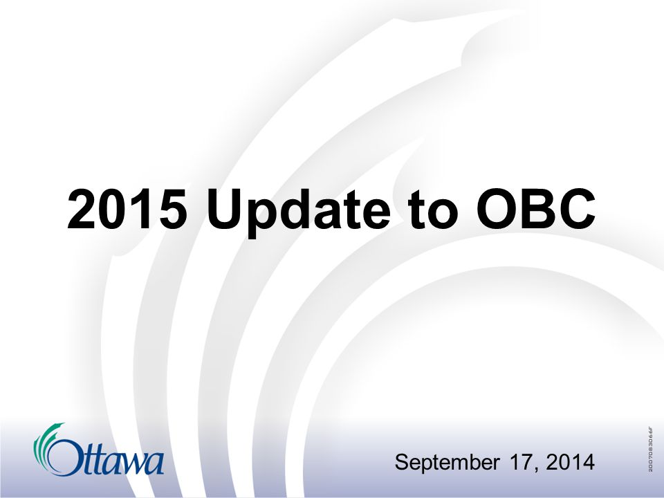 2014 Update package Minor changes to the code:  occupancy to occupancy  Regulation to regulation  Missing words  Updated fees for BMEC submissions 2