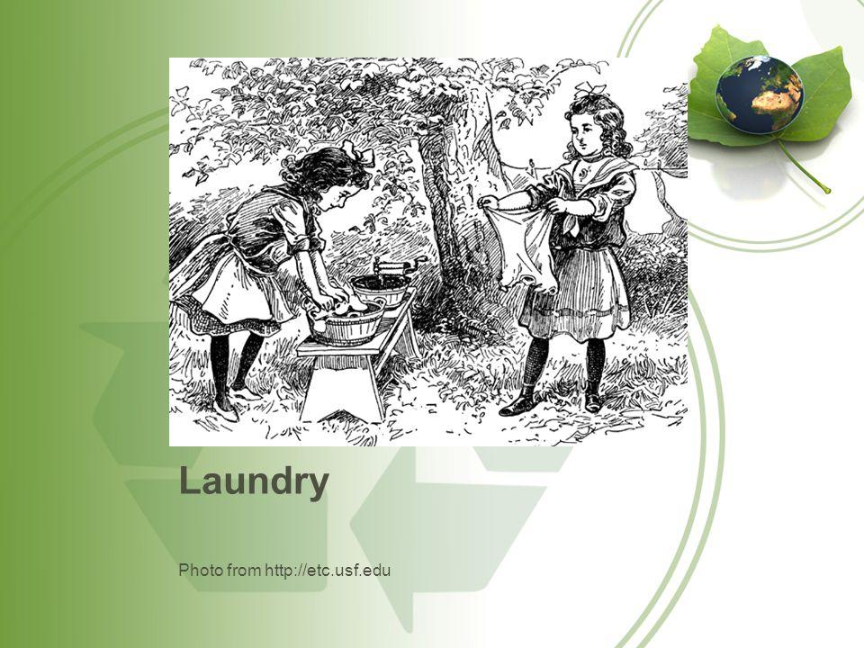 Laundry Photo from http://etc.usf.edu