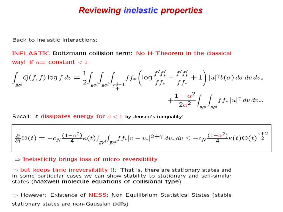 Reviewing inelastic properties