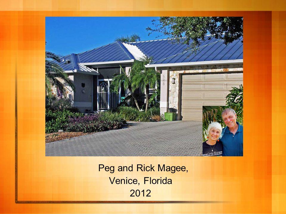 Peg and Rick Magee, Venice, Florida 2012