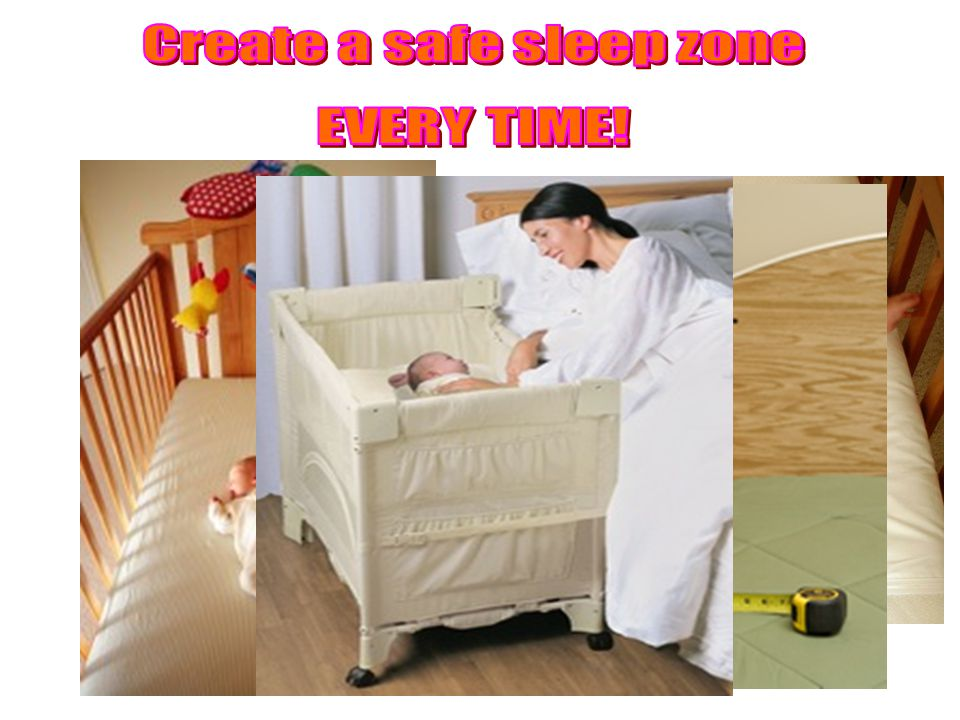On their Back In a crib or bassinet ALONE On a properly fitting firm mattress Without blankets or toys