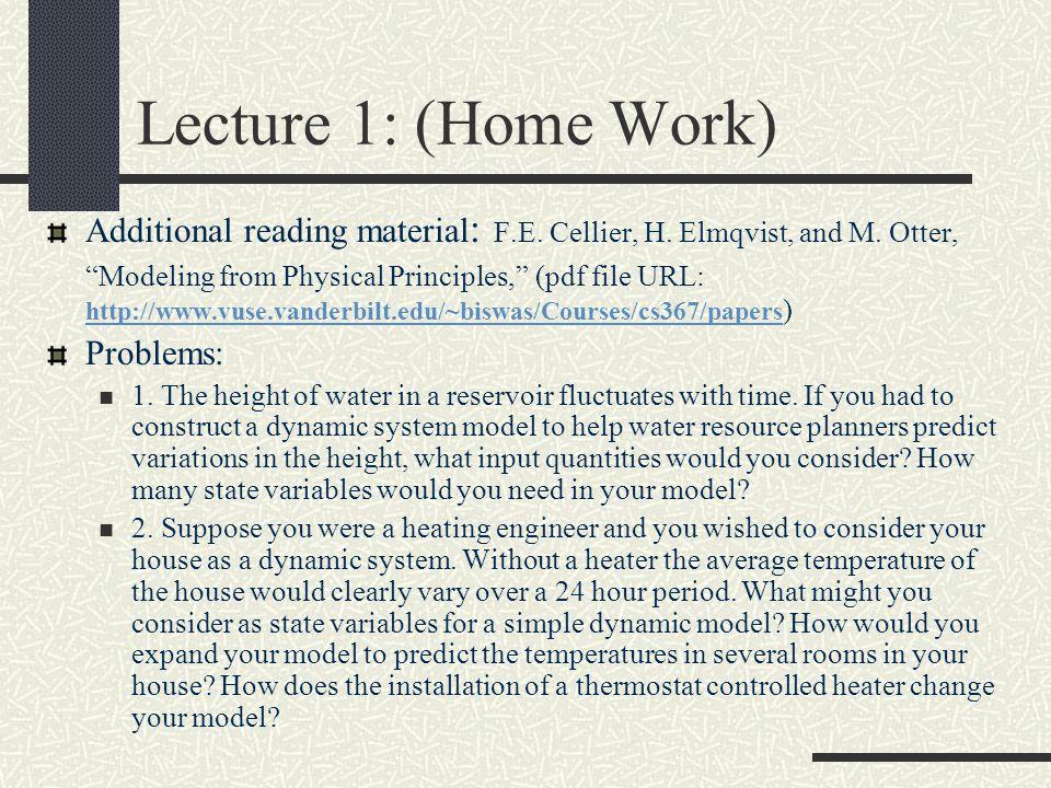 Recursive Equation Model: Two philosopher problem