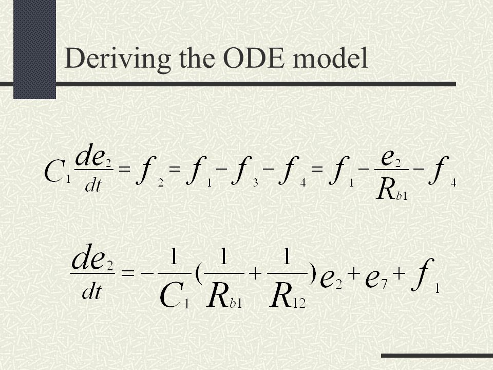 Example: Discrete-State Modeling of Systems Warehouse Systems Arriving Products u 1 (t) Departing Products u 2 (t) x(t) x(t) + 1 :arrival; u 1 (t) = 1; u 2 (t) = 0 x(t + ) = x(t) - 1 :departure; u 1 (t) = 0; u 2 (t) = 1; x(t) > 0 x(t) :otherwise Question: Is this similar to a tank system.