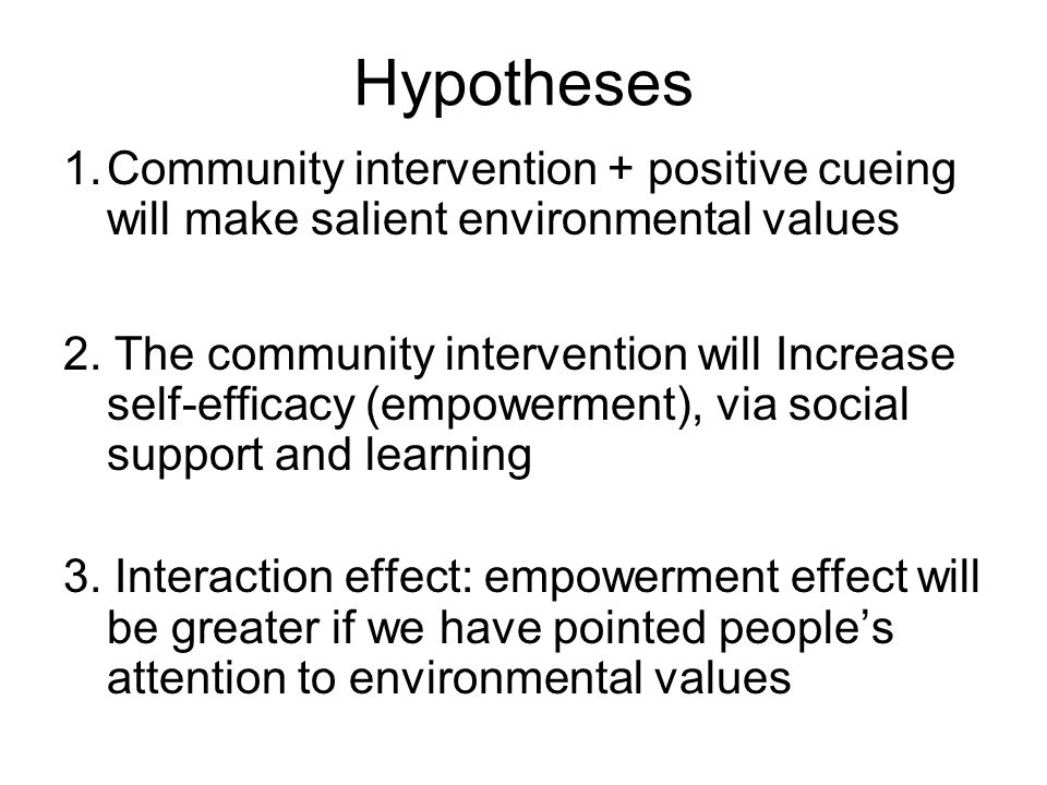 Design No cueing Positive social cueing plus environmental cueing Positive social cueing Environmental based intervention (e.g., green space) XX Social, non- environmental intervention (e.g., playground) X No community intervention X
