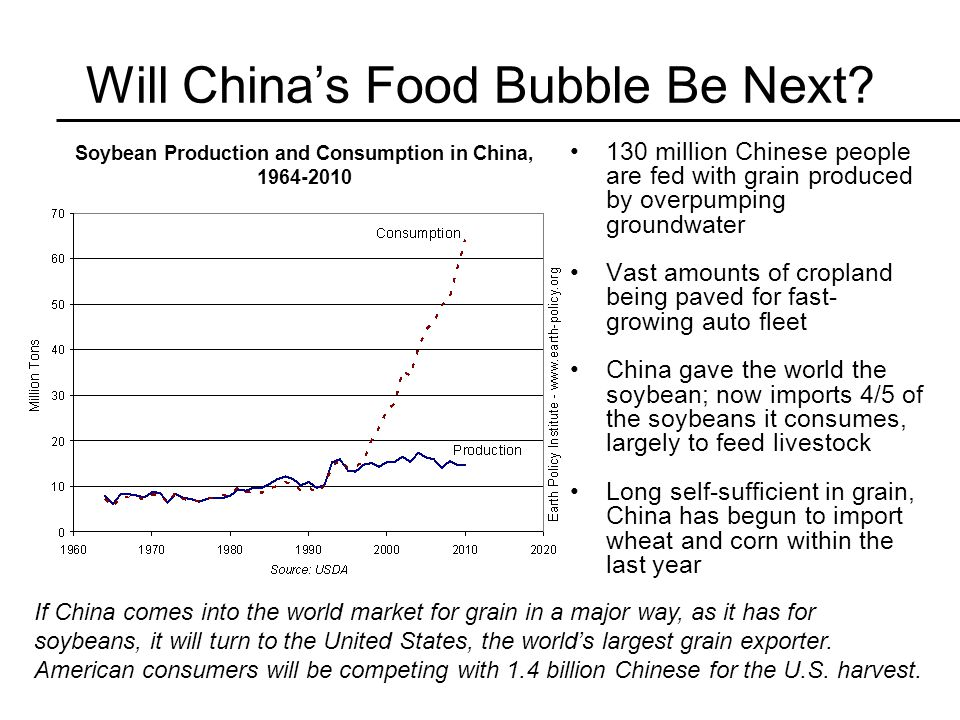 Will China's Food Bubble Be Next.