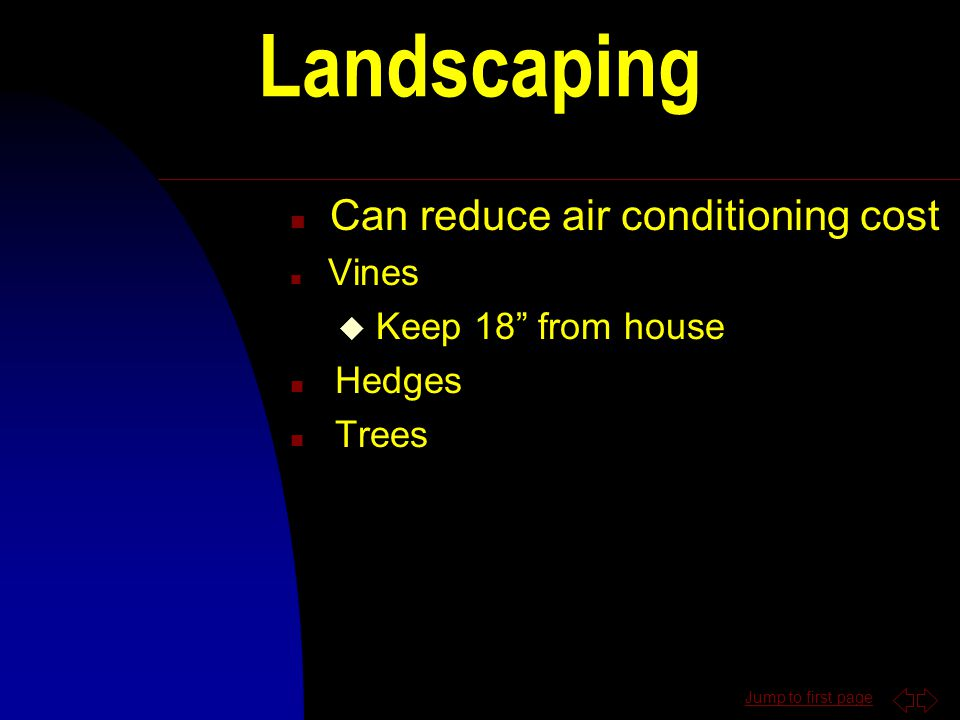 Outdoor Water Conservation n Water lawn between 4pm & 10 am n Water lawn only when it needs it n Place mulch around trees and plants n Plant native ve