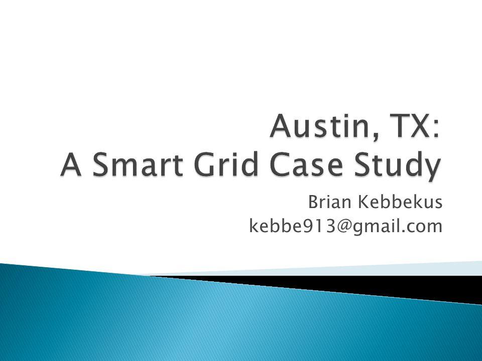  City of Austin  Austin Energy  The University of Texas  Austin Technology Incubator  Greater Austin Chamber of Commerce  Environmental Defense Fund