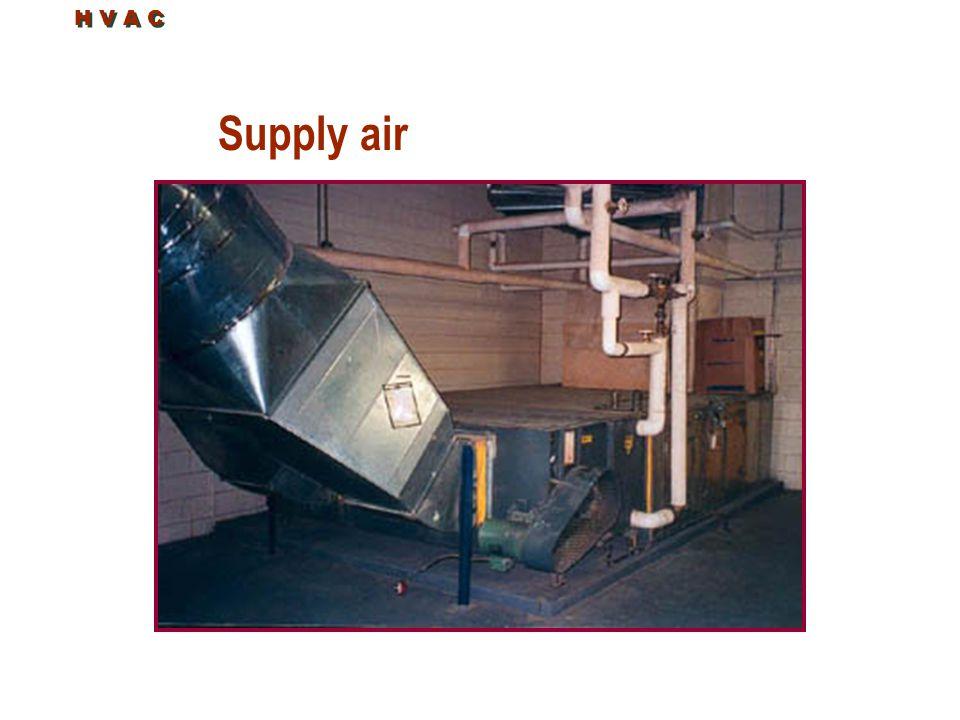 H V A C Supply air