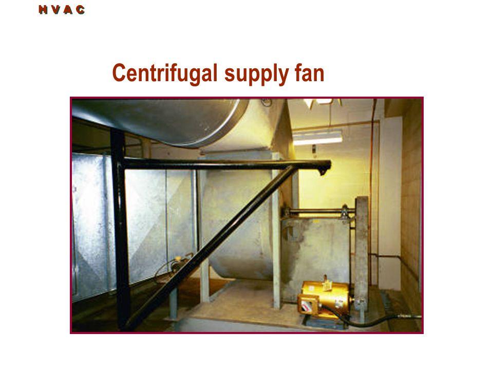 H V A C Centrifugal supply fan