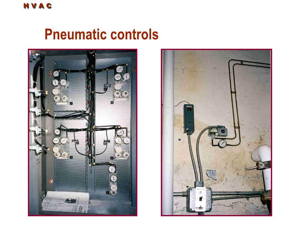 Pneumatic controls H V A C