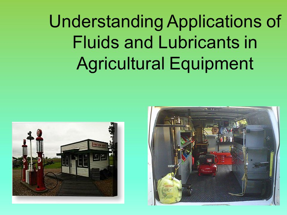 Understanding Applications of Fluids and Lubricants in Agricultural Equipment