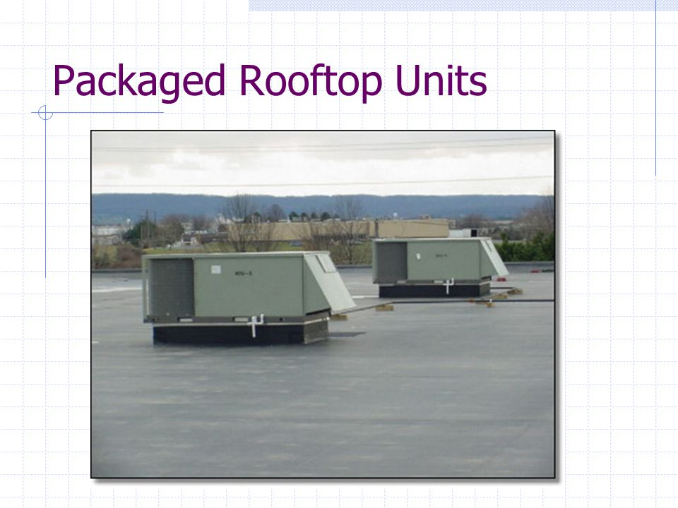Packaged Rooftop Units