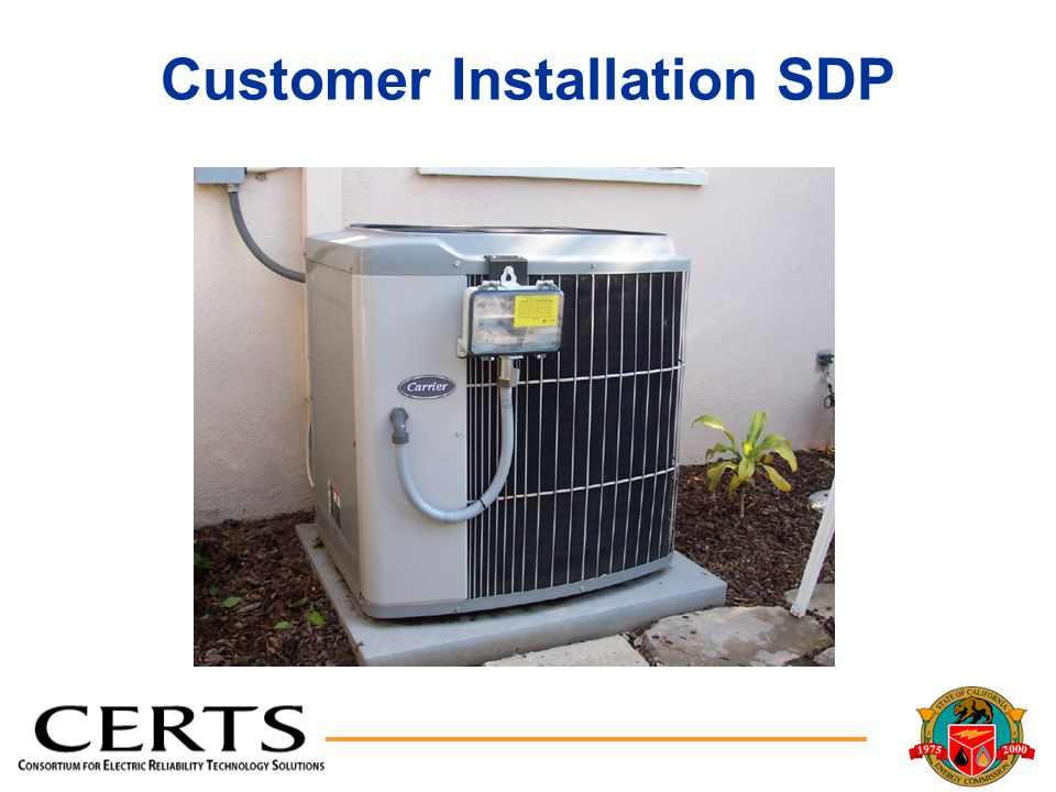 Customer Installation SDP