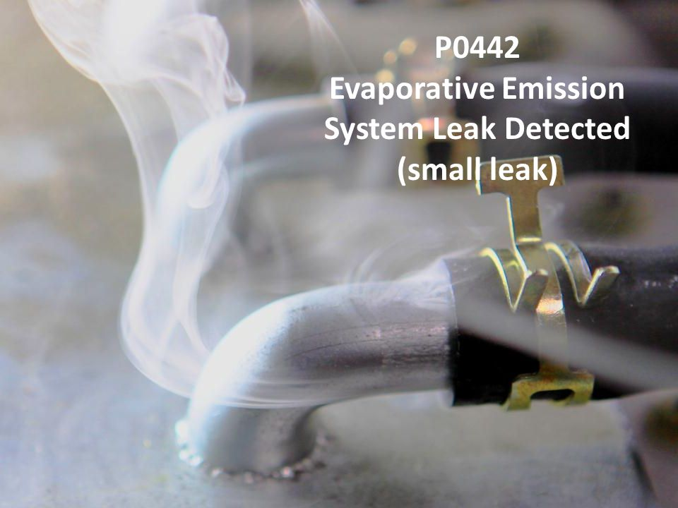 P0442 Evaporative Emission System Leak Detected (small leak)