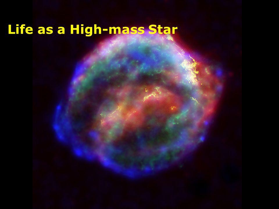Life as a High-mass Star