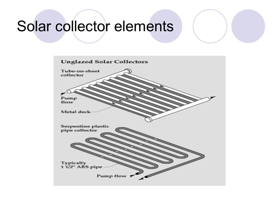 Solar collector elements