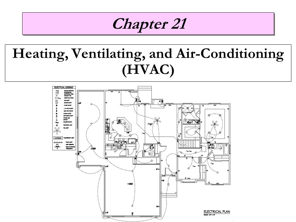 Chapter 21 Heating, Ventilating, and Air-Conditioning (HVAC)